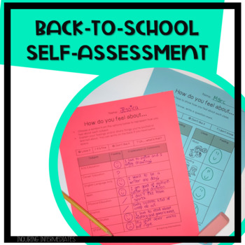 BC Edition: Back-to-School Student Self-Evaluation of Subjects