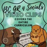 BC Grade 4 Socials Video Collection - covers all 4 Big Ideas!