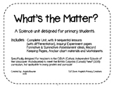 BC New Curriculum- Gr. 1 Science- Matter Unit