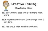 BC Redesigned Curriculum Core Competency Poster - Creative Thinking