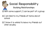 BC Redesigned Curriculum Core Competency Posters - Social Responsibility