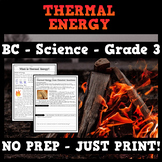 BC Science - Grade 3 - Thermal Energy