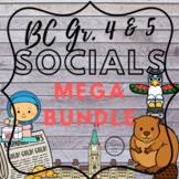 BC Social Studies Bundle for Grade 4 & 5