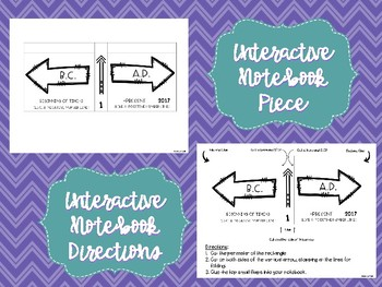 BC and AD: PowerPoint and Interactive Notebook Resources