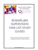 BCBA/BCaBA 4th Edition Task List Study Guides Bundle 1