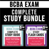 BCBA Exam Study Kit | Study Guide + Flash Cards Set | Beha