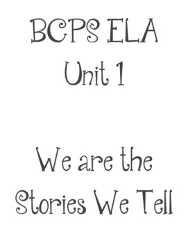 BCPS ELA Grade 4 Essential Questions