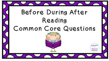 BDA Reading Common Core Questions