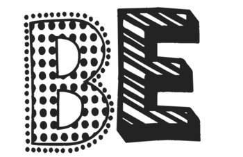 BE...Amazing Door Decor/Bulletin Board Set (solid colors)