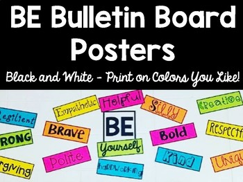 BE Bulletin Board Posters