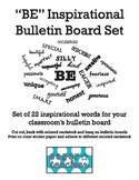 """BE"" Inspirational Bulletin Board Set"