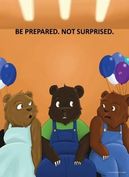BE PREPARED. NOT SURPRISED.