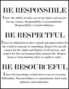 BE STATEMENTS poster