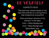 BE Your Best Posters - Confetti Pack