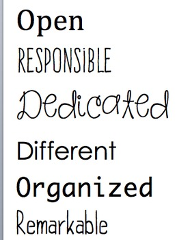 BE- inspirational bulletin board