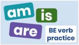 BE verb digital practice
