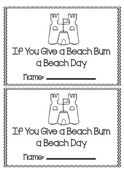 End of Year Activities: Beach Activity packet