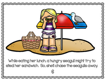 Summer Activities: Beach Activity packet