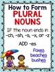 Singular, Plural, Possessive, and Collective Noun Unit & Activities