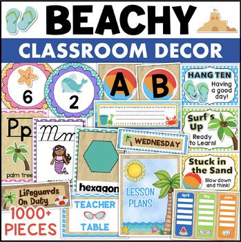 Beach Theme Classroom - Beach Decor