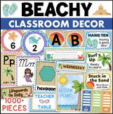 Beach Theme Classroom Decor Bundle