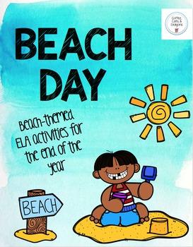 BEACH DAY- Beach themed ELA activities