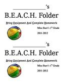 B.E.A.C.H Folders