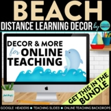 BEACH / OCEAN Classroom Theme Packet ~ Printables Decor and More