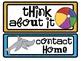 BEACH THEME CLIP CHART / BEHAVIOR PLAN-classroom theme {printables)