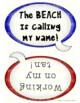 """BEACH Theme Packet """"Fun in the Sun"""""""