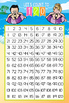 BEACH kids - Classroom Decor: Counting to 120 Poster - size 24 x 36, numbers