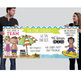 BEACH kids - Classroom Decor: LARGE BANNER, In Our Class - horizontal