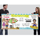 BEACH kids - Classroom Decor: LARGE BANNER, In Our School - horizontal