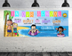 BEACH kids theme - Classroom Decor: LARGE BANNER, In Our School, printable