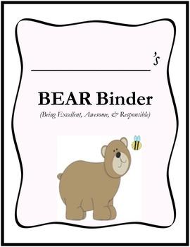 BEAR Binder Cover
