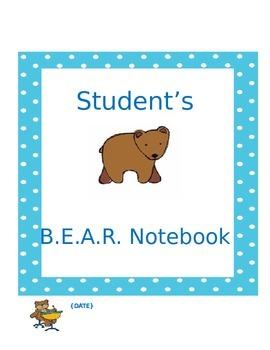 BEAR (Bring Everything Always Ready) Communication Notebook Starter Kit