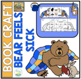 BEAR FEELS SICK BOOK CRAFT