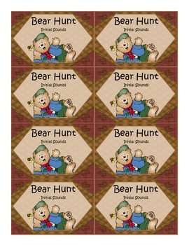 BEAR HUNT-INITIAL SOUNDS GAME
