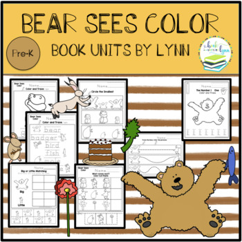 BEAR SEES COLOR TODDLER BOOK UNIT