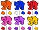 BEARS Color Match Clip It {A Beginning Work Task)