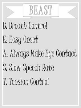 BEAST Fluency Strategies