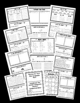 BEAT THE SUMMER SLIDE {Calendars  & Activities ~ 1st Grade  into 2nd Grade}