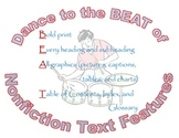 BEAT nonfiction reading strategy poster