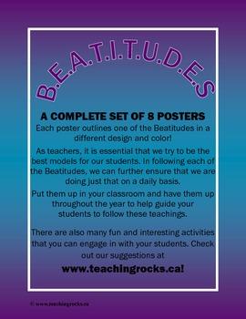B.E.A.T.I.T.U.D.E.S - A Complete Poster Set! 8 Posters!