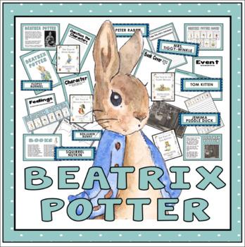 BEATRIX POTTER TEACHING RESOURCES ENGLISH READING AUTHOR PETER RABBIT