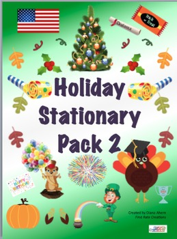 Holiday Stationary Pack 2