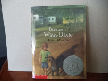 BECAUSE OF WINN- DIXIE  ISBN 0-439-25051-X (set of 7) + Video