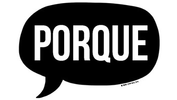 BECAUSE Poster (English & Spanish)