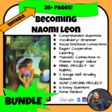 BECOMING NAOMI LEON BUNDLE (PACKET, 2 PROJECTS, GOOGLE QUI