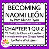 BECOMING NAOMI LEON | CHAPTER 1 | PRINTABLE AND DIGITAL (G